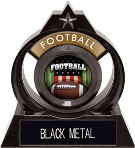 "Hasty Awards Eclipse 6"" Patriot Football Trophy"
