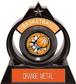 """Hasty Awards Eclipse 6"""" Bust-Out Basketball Trophy"""
