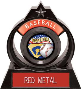 "Hasty Awards Eclipse 6"" Americana Baseball Trophy"