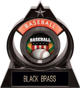 "Hasty Awards Eclipse 6"" Patriot Baseball Trophy"