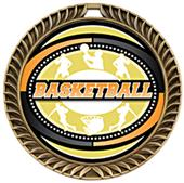 Awards Crest Basketball Medal Classic M-8650B