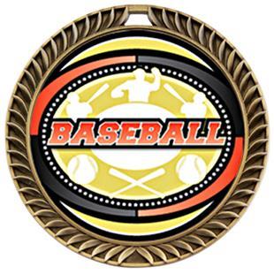 Hasty Awards Crest Baseball Medal Classic M-8650C