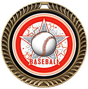 Hasty Awards Crest Baseball Medal All-Star M-8650C