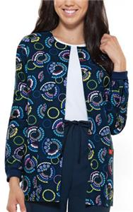 Dickies Women's Round Neck Happy Hues Jacket