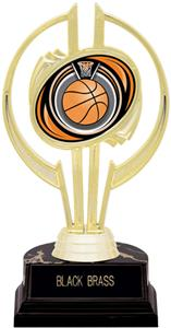"Gold Hurricane 7"" Eclipse Basketball Trophy"