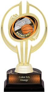 "Gold Hurricane 7"" HD Basketball Trophy"