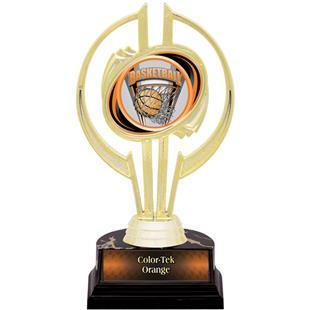 "Gold Hurricane 7"" ProSport Basketball Trophy"