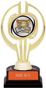 "Gold Hurricane 7"" Xtreme Basketball Trophy"