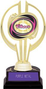 "Awards Gold Hurricane 7"" Dazzler Cheer Trophy"