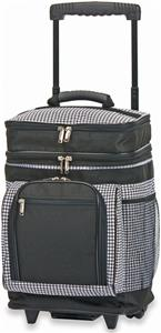 Picnic Plus Houndstooth Partytime Rolling Cooler
