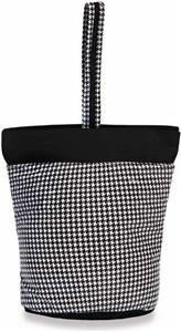 Picnic Plus Houndstooth Razz Lunch Tote