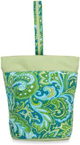 Picnic Plus Green Paisley Razz Lunch Tote