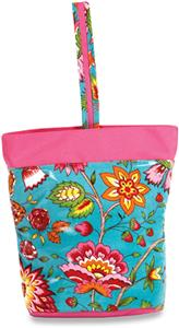 Picnic Plus Madeline Turquoise Razz Lunch Tote