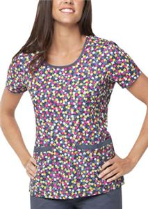 Dickies Womens Jr. Fit Round Neck Scrub Top