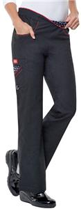 Dickies Women's Junior Fit Flare Pants