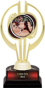 "Awards Gold Hurricane 7"" P.R.1 Softball Trophy"