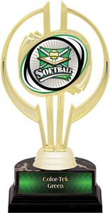 "Awards Gold Hurricane 7"" Xtreme Softball Trophy"