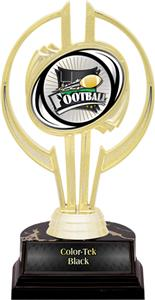 "Awards Gold Hurricane 7"" Xtreme Football Trophy"
