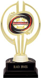 "Awards Gold Hurricane 7"" Classic Baseball Trophy"