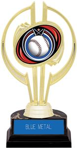 "Awards Gold Hurricane 7"" Eclipse Baseball Trophy"