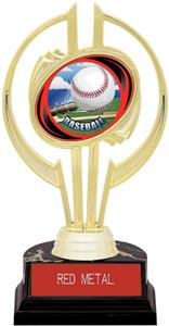 "Hasty Awards Gold Hurricane 7"" HD Baseball Trophy"