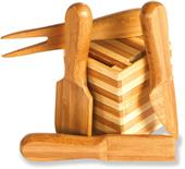 Picnic Plus Barley Bamboo Knife/Spreader Set