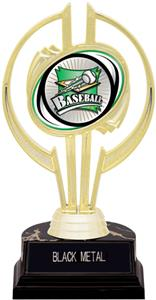 "Awards Gold Hurricane 7"" Xtreme Baseball Trophy"