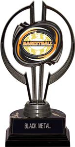 "Black Hurricane 7"" Classic Basketball Trophy"