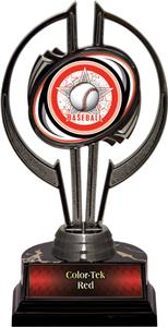 "Black Hurricane 7"" All-Star Baseball Trophy"