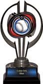 "Black Hurricane 7"" Eclipse Baseball Trophy"