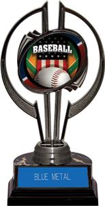 "Black Hurricane 7"" Patriot Baseball Trophy"
