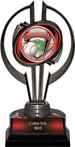"Black Hurricane 7"" ProSport Baseball Trophy"