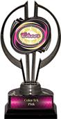 "Black Hurricane 7"" Dazzler Cheer Trophy"