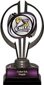 "Black Hurricane 7"" Xtreme Cheer Trophy"