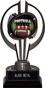 "Black Hurricane 7"" Patriot Football Trophy"