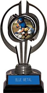 "Black Hurricane 7"" P.R.2 Football Trophy"