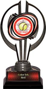 "Black Hurricane 7"" All-Star Softball Trophy"