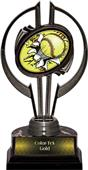 "Black Hurricane 7"" Bust-Out Softball Trophy"