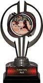"Awards Black Hurricane 7"" P.R.1 Softball Trophy"
