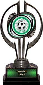 "Awards Black Hurricane 7"" All-Star Soccer Trophy"