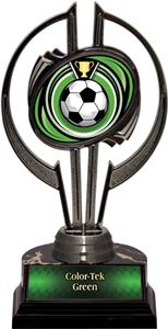 "Awards Black Hurricane 7"" Eclipse Soccer Trophy"