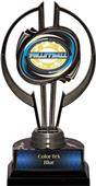 "Award Black Hurricane 7"" Classic Volleyball Trophy"