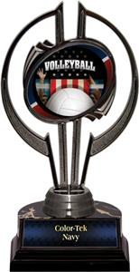 "Award Black Hurricane 7"" Patriot Volleyball Trophy"