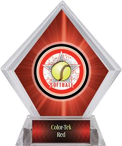 Awards All-Star Softball Red Diamond Ice Trophy