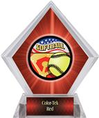 Awards Americana Softball Red Diamond Ice Trophy