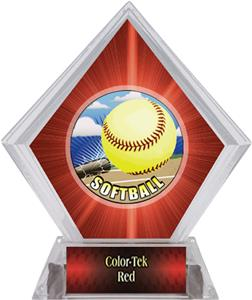 Awards HD Softball Red Diamond Ice Trophy