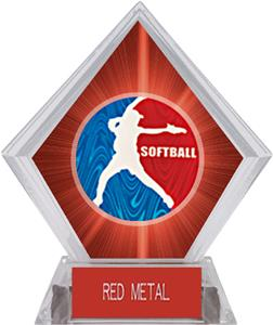 Awards Spirit Softball Red Diamond Ice Trophy