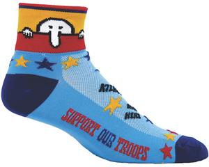Red Lion Zany Kilroy Performance Crew Socks