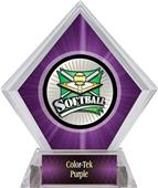 Awards Xtreme Softball Purple Diamond Ice Trophy