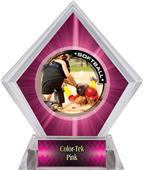 Awards P.R.2 Softball Pink Diamond Ice Trophy